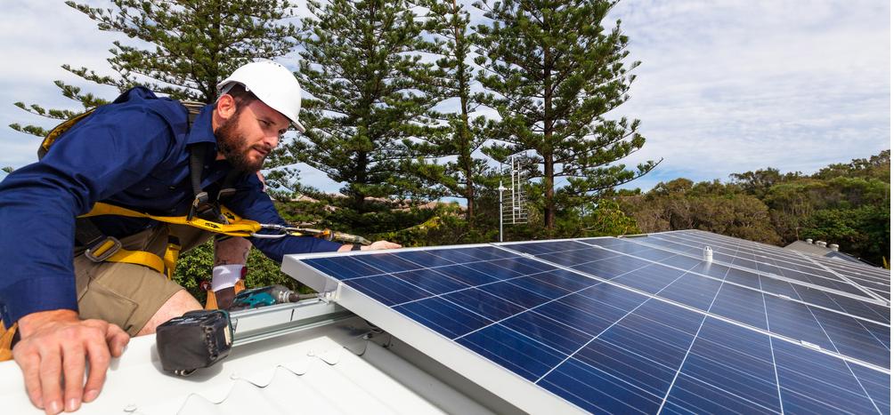 provider for solar panel installation
